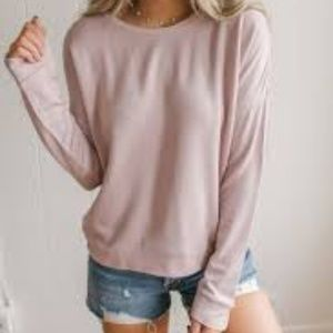 On the Run Pullover Dusty PinK - bundle 3 for $20